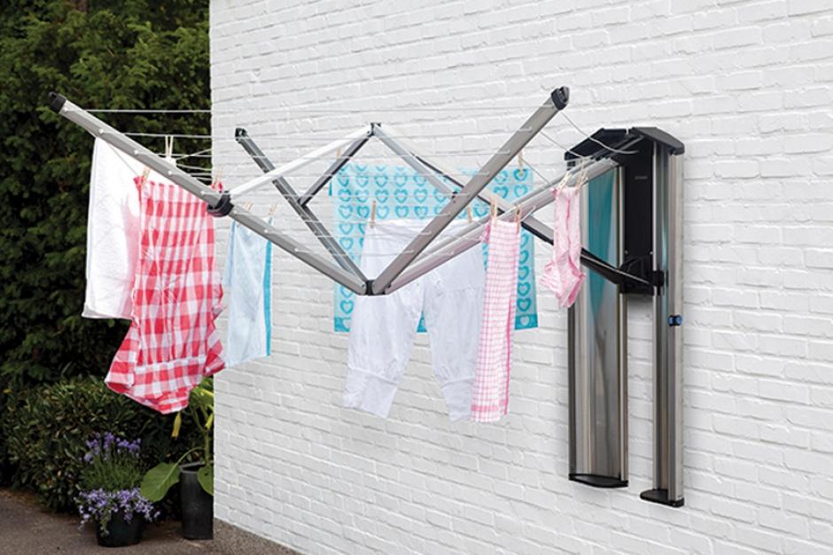 petit electrom nager etendoir linge sechoir wallfix bo te de rangement. Black Bedroom Furniture Sets. Home Design Ideas