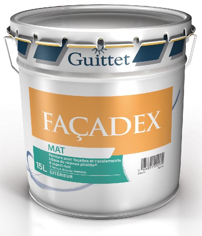 peinture fa adex pour facade neuve ou ancienne base de r sines pliolite ext rieur blanc. Black Bedroom Furniture Sets. Home Design Ideas