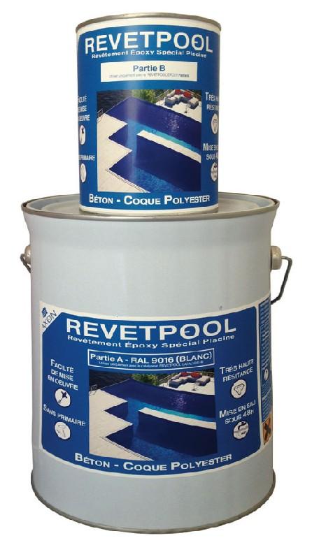 revetpool peinture pour piscine base de r sine epoxy. Black Bedroom Furniture Sets. Home Design Ideas