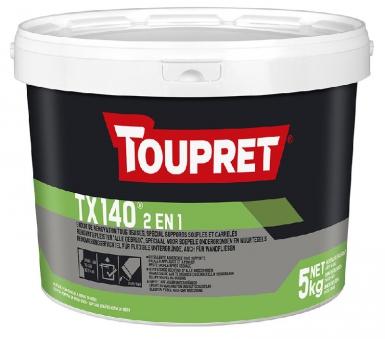 Tous usages f enduit fin de lissage pr t l 39 emploi - Enduit de lissage exterieur toupret ...