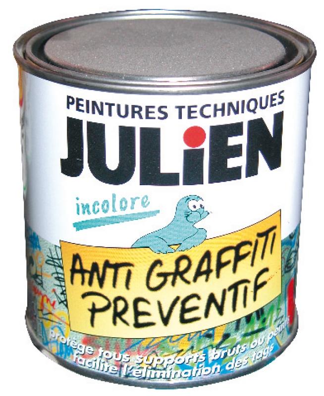 Vernis julien anti graffitis isol tag prot ge tous supports bruts ou pei - Www peinturesjulien fr ...