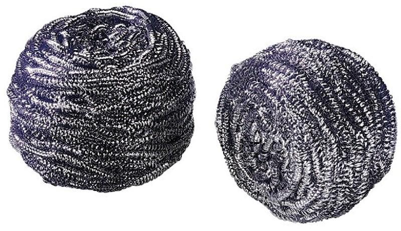 Tampons inox maginox lot de 2 spirales for Entretien evier inox nice