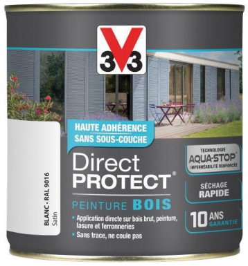 Peinture Direct Protect Bois Exterieurs Application Directe