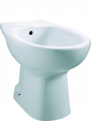Salle de bain bidet poser bidet sur pied polo zoom for Bidet salle de bain