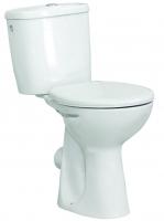cuvette de WC surélevée Polo Zoom H 47 cm, alimentation la...