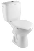 pack WC Neo cuvette de WC sortie horizontale, réserv. 3/6 l...