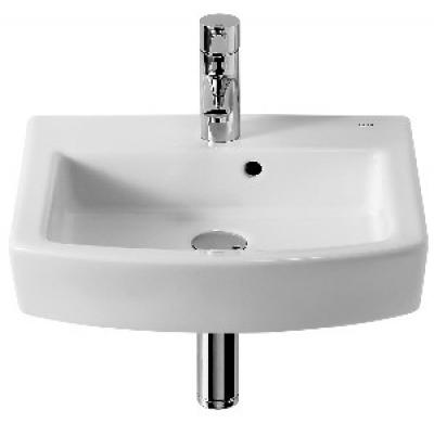 Colonne lave main salle de bains noire avec lavabo en - Lave main sur colonne ...