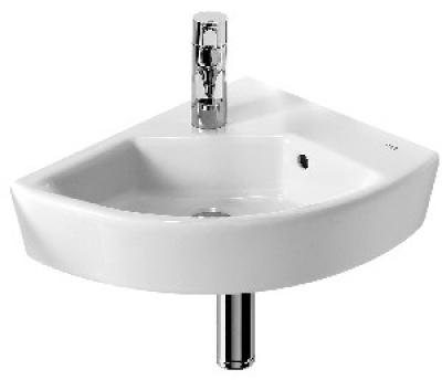 salle de bain lavabo avec colonne lave mains d angle mural ou poser hall 35 x 43 cm droite. Black Bedroom Furniture Sets. Home Design Ideas