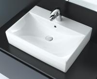 vasque Diverta à poser sur plan - 4 faces émaillées - dim...