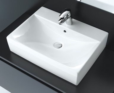 Vasque diverta poser sur plan 4 faces maill es for Lavabo diverta de roca