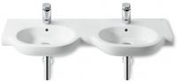 lavabo-plan double Meridian-N 125 x 46 cm