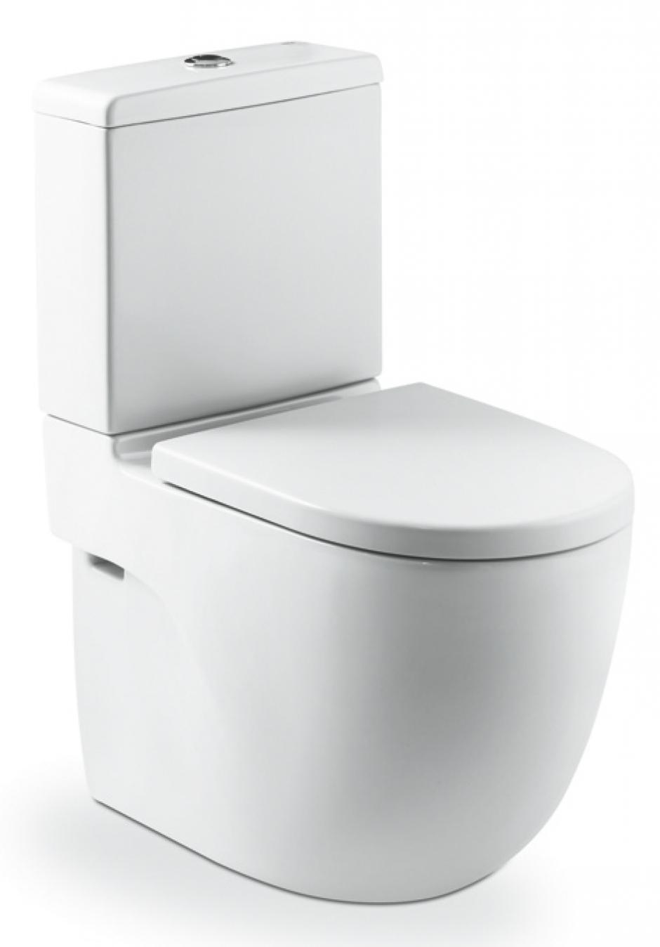 Salle de bain abattant wc abattant double wc avec for Inodoro roca meridian tanque bajo