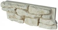 Muret de CAUSSE - dim. Lxlxh 52 x 20 x 8 cm - ton naturel - ...