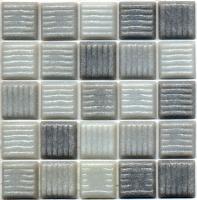 pâte de verre 2x2 cm MANHATTAN - pqt de 2,00 m2