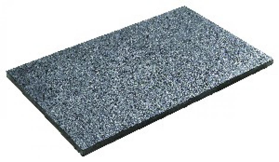 Carrelage dallage reconstitu dalle m tal grand for Carrelage grand format gris