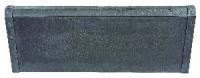 """BORDURE """"MÉTAL"""" AVEC RIVETS - 75x29,5 cm - Épaisseur :..."""