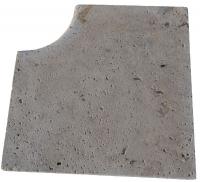 angle rentrant RUSTIC - marbre travertin