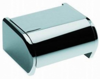 porte-papier rouleau avec couvercle - Architect - chromé...