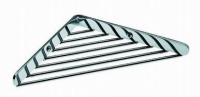 porte-savon grille angle - Architect - chromé