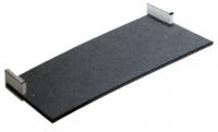 porte-serviette tablette - Extrême - chromé