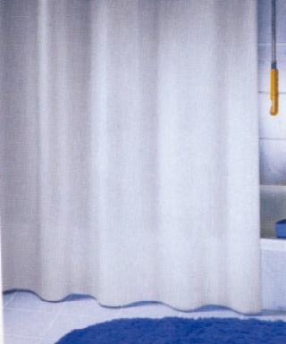 Rideau de douche textile sans anneau h 200 cm l 120 - Anneau de rideau de douche ...
