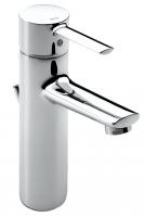 mitigeur lavabo monotrou Targa à bec haut - finition chrom�...