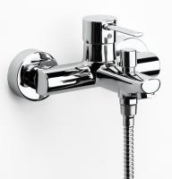 mitigeur bain-douche mural Targa - finition chromé