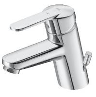 mitigeur lavabo monotrou Victoria-L avec tirette latérale -...