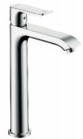 mitigeur lavabo Metris 200 mm surélevé - finition chromé...