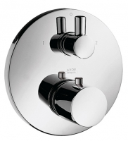 set de finition thermostatique avec robinet d'arrêt - c...