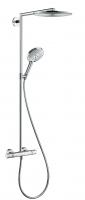 colonne Showerpipe Raindance Select douche de tête 300 mm -...