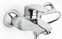 mitigeur bain-douche mural Monodin-N - finition chromé...