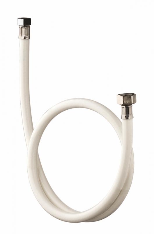 flexible souple blanc avec crous tournants pour lave bassin. Black Bedroom Furniture Sets. Home Design Ideas