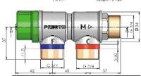 régulateur thermostatique - entrées en 3/4