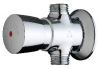 robinet douche Presto P 500 S à poussoir - chromé - 30 sec...