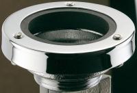 sortie d'urinoir joint à compression Ø 50 - chromée -...