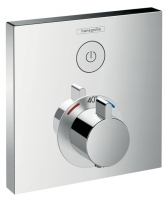 set de finition mitigeur thermostatique ShowerSelect avec ro...