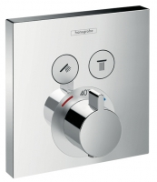 set de finition mitigeur thermostatique ShowerSelect - 2 fon...