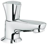 robinet lavabo Costa L à bec coulé - alimentation en eau f...