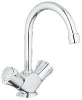 mélangeur lavabo Costa L à bec tube pivotant - finition ch...