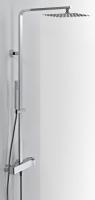colonne Echo - H: 114,8 cm, chromé
