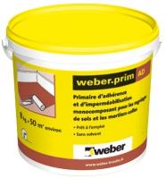 seau 2 kg Weber.prim AD - environ 50m2 - séchage 1h à 4h...