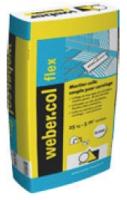 sac   5 kg Weber. col flex - coloris gris
