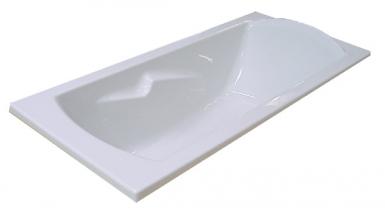 baignoire encastrer ou poser ulysse 2 170 x 75 cm. Black Bedroom Furniture Sets. Home Design Ideas