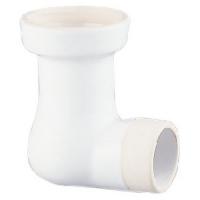 tubulure porcelaine Aspirambo coudée