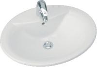 vasque Kheops à encastrer par-dessus 56 x 46 cm