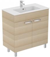meuble sur pied Ulysse 80 cm (H 85,5 cm / P 45 cm) - 2 porte...