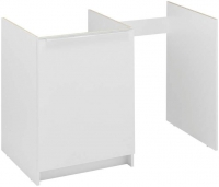 meuble sous-évier - largeur 400 mm en 100