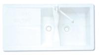 évier Astra ATD 651 - coloris blanc
