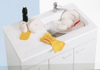 évier Mogador 6738 - coloris blanc
